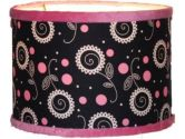 Thank You Baby Madison Girl Pink Black Lamp Shade (Thank You Baby: 812685010737)