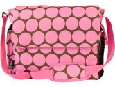 Wildkin 47085 Ashley Collection - Big Dots - Pink Diaper Bag (Unknown: 097277470858)