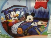 Disney Mickey Mouse 4pc Toddler Bedding Set ''Genuine Licensed'' (Disney: 085214069913)