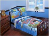 Toy Story - Toys in Action Toddler Bedding 4-Piece Set (Disney: 085214064901)