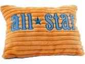 "Elegant Baby 7"" x 9"" Decorative Pillow, Blue, Orange (Elegant Baby: 077539560282)"