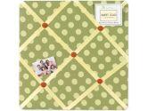 Forest Friends Fabric Memory/Memo Photo Bulletin Board by Sweet Jojo Designs (Sweet Jojo Designs: 846480012108)
