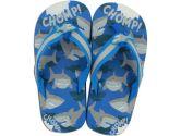 Stephen Joseph Flip Flops, Shark, Small, Blue, Small, 1-Pack (Stephen Joseph: 794866102809)