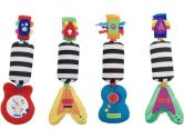 Sassy Go-Go Guitars Musical Toy, Colors May Vary (Sassy: 037977801613)
