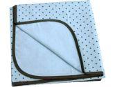 Kushies B540-A05 Receiving Blanket, Blue, Dots (Kushies: 064408602907)
