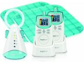 Angelcare AC401-DP Baby Movement and Sound Monitor Delux Plus (Blue) (Angelcare: 666594000033)