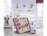 Kids Line C613BS Carter's Lamp Base and Shade, Elephant Patches (KidsLine: 789887510795)
