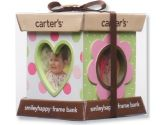 Carter's Resin Bank and 4 Sided Picture Frame, Pink Multi (Carter's: 022253237446)