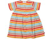 Zutano Short Sleeve Baby Dress - Miami Stripe - 12 Months (Zutano: 754155308510)