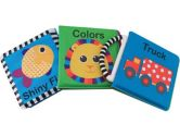Sassy 3 Pack Newborn Developmental Book set (Sassy: 037977801897)