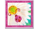 The Kids Room Love Bug Red Lady Bug Wall Plaque (The Kids Room by Stupell: 049182012050)