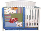 Nascar 3 Piece Crib Set by Trend Lab (Trend Lab: 846216016721)