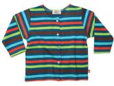 5 Color Striped Baby Jacket - Pagoda - 18M (Zutano: 754155326767)