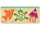 P'kolino PKTYPZSE03  Puzzle Sea, 3-Piece (P'Kolino: 609722664950)