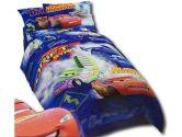 "Disney- Pixar Cars ""The Fast And The Hilarious"" Full Comforter (Disney: 032281284510)"