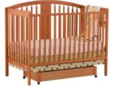 Stork Craft 04550-65L Hollie Fixed Side Convertible Crib (Oak) (Stork Craft: 056927080601)
