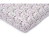 Carter's Easy-Fit Quilted Playard Fitted Sheet, Pink Circles (Carter's: 789887510375)