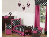 Hot Dot Modern Kids Toddler Bedding by Sweet Jojo Designs 5pc Set (Sweet Jojo Designs: 846480012795)