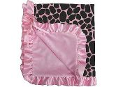 SwaddleDesigns Marquisette Swaddling Blanket - Very Berry Cute & Wild (SwaddleDesigns: 710434172845)