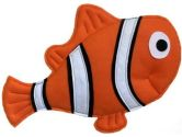 "Loveable Creations 7832 22"" x 15"" Clown Fish - Orange/Black/White (Loveable Creations: 684018078321)"