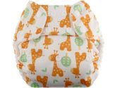Swaddlebees One Size Simplex All In One Diapers, Giraffe (Blueberry Diapers: 812016016612)