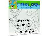 Stephen Joseph Zoo Craft Canvas Set, 1-Pack (Stephen Joseph: 794866640349)