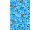 Kids Line Baby Boa Blanket, Monkey (KidsLine: 789887302840)