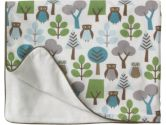 DwellStudio Owls Stroller Blanket (Dwell Studio Nursery: 846925006655)