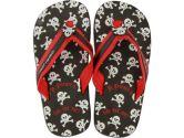 Stephen Joseph Flip Flops, Pirate, Medium, Black, Medium, 1-Pack (Stephen Joseph: 794866101291)