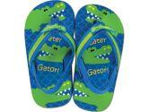Stephen Joseph Flip Flops, Alligator, Large, Green, Large, 1-Pack (Stephen Joseph: 794866100546)
