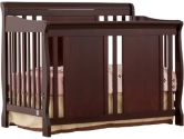 Stork Craft 04587-484 Verona 4-In-1 Fixed Side Convertible Crib (Cherry) (Stork Craft: 056927084036)