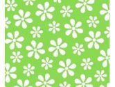 SheetWorld Extra Deep Fitted Portable / Mini Crib Sheet - Primary Green Floral Woven - Made In USA (sheetworld: 608729893226)