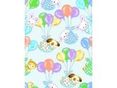 HALO SleepSack Wearable Blanket in Fleece - Teddy Bear Print (Medium) (Medium, White with brown teddy bears) (Halo: 818771004567)