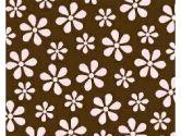 SheetWorld Crib Sheet Set - Pink Floral Brown Woven - Made In USA (sheetworld: 685397001320)