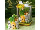 72PC FC8194 Jungle Critters Candle Favors Wedding Baby Shower Favors & Accessori (Fashioncraft: 638054081944)