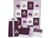 Lambs & Ivy 5 Piece Bedding Set - Luv Bugs (Lambs & Ivy: 084122062054)