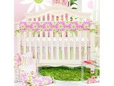 Cartwheels 4 Piece Crib Bedding Set by Glenna Jean (Glenna Jean: 763872104404)