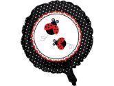 Ladybug Party Mylar Balloon (each) (Fun World Costumes: 073525975634)