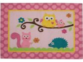 Kids Line 5709RUG Dena Happi Tree Rug (Pink) (KidsLine: 789887308422)