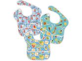 Bumkins Waterproof Superbib, 3-Pack, Boy Set (Bumkins: 014292987970)