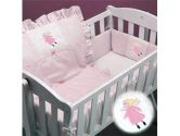 Little Fairy Pink Cradle Bedding - Size: 15x33 (Ababy: 009243060130)