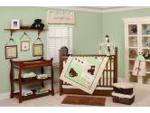 Pam Grace Creations BDNB-BEAR Baby Bear Bedding Set, 10-Piece (Pam Grace Creations: 818523010150)