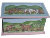 MK and Company Horse Meadow Music Box, 1-Pack (MK and Company: 856682002012)