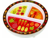 SugarBooger by Ore' Divided Suction Plate My Garden (SugarBooger by Ore': 732389023034)