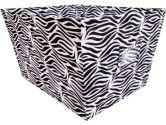 Trend Lab 106966 Black & White Zebra - Bin - Large (Trend Lab: 846216026263)