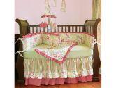 Leaves 4 Piece Crib Bedding Set by HooHobbers (Hoohobbers: 021671001189)