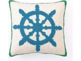 Rosenberry Rooms Captain's Wheel Hook Pillow (Rosenberry Rooms: 765573996524)