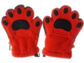 BearHands KF1000ORA Youth Large Fleece Mittens Orange (BearHands: 180149000755)
