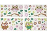 Owl Wonder Land Wall Appliques (Cocalo: 680601162866)
