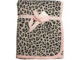 Carter's Girls Leopard Print Velour Blanket (Carter's: 789887511525)